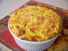 Trainee de cozinheira: Suflê de cenoura