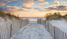 Sea Grass Beach Path Photo, Large Art, Beach Panorama, Rhode Island, Panoramic Photography, Newport RI Dunes Fence Ocean Picture Blue Orange by klgphoto on Etsy https://www.etsy.com/listing/256087065/sea-grass-beach-path-photo-large-art