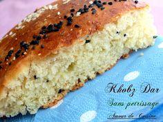 khobz dar sans petrissage / pain maison Bonjour tout le monde,  voila un…