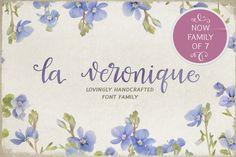 La Veronique Family  by MyCreativeLand on @creativemarket