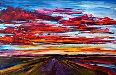 Wonders Never Cease, oil landscape painting by Kimberly Kiel | Effusion Art Gallery + Cast Glass Studio, Invermere BC Sky Painting, Painting For Kids, Dance Paintings, Landscape Paintings, Modern Art, Contemporary Art, Wedding Painting, Cast Glass, Mountain Paintings