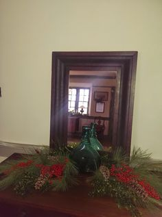 Vintage Bottle Christmas decor!