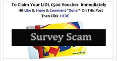 """Lidl """"Free £500 Vouchers To Everyone This Christmas"""" Facebook Scam"""
