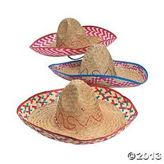 EMBROIDERED SOMBRERO (ADULT SIZE) (1...