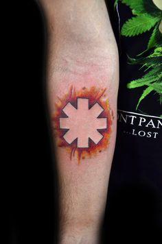 watercolor tattoo - rhcp - Thiago Padovani
