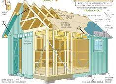 Outdoor Shed Plans Blueprints