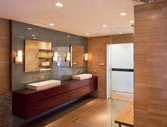 Diseño de Interiores & Arquitectura: 17 Exquisitas Ideas de Diseño Para Baños de Madera Contemporáneos.