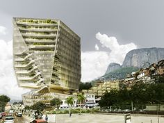 Cannon Design Releases Plans for Mixed-Use Cancer Hospital in Brazil,Courtesy of Cannon Design
