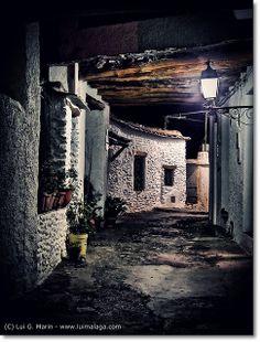 Nocturna en Pampaneira, Alpujarras, Spain