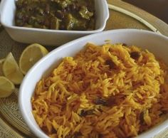 This is a traditional South African recipe, which comes from the great culinary tradition of the Cape Malays - originally brought in as slaves in the century. African Rice Recipe, South African Recipes, Ethnic Recipes, Meat Icon, Yellow Rice Recipes, Homemade Corned Beef, Beef Appetizers, Quinoa Dishes, International Recipes