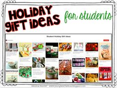 Holiday Student Gifts Ideas - If you're on the lookout for present for your elementary students this Christmas season - you're going to LOVE the ideas included at this blog post. Click through, check them out, and then make sure you are following me on Pinterest for even more great ideas you can use in December or all month long! (2nd, 3rd, 4th, 5th, 6th grade) #YoungTeacherLove #StudentGift #StudentChristmasGift