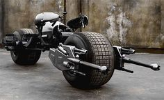 I wouldn't mind taking Batman's motorcycle for a spin...