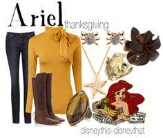"""Ariel Thanksgiving"" - holiday  DisneyThis-DisneyThat on Tumblr"