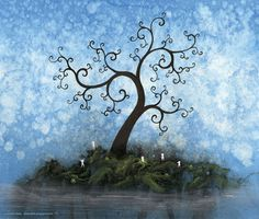 Lawrence Yang - his trees make me all squidgy. :-)