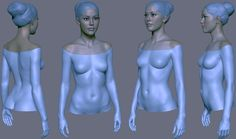 ArtStation - Girl character in progress., Eugene Fokin