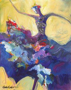 Blue Flamenco Dancer