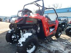 "Used 2014 Arctic Cat Wildcat Trail ATVs For Sale in Wisconsin. 2014 Arctic Cat Wildcat Trail, ONLY 1 MILE! 90 DAY FACTORY WARRANTY, 700 CC, EFI, 50"" WIDE, FOX SHOCKS, TRAIL TAMER! - Give us a call toll free at 877=870-6297 or locally at 262-662-1500. New Used Sport Trail Performance Preowned Youth Crossover. There will be more pictures available upon request. We also offer great financing terms for qualifying credit. Call us for buying or trading your motorcycle, atv, or snowmobile."