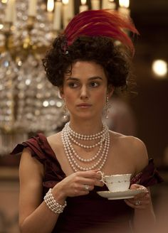 Keira Knightley costume in 'Anna Karenina', 2012. Costumes designed by Academy Award winner Jacqueline Durran.