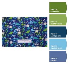Paint colors from Chip It! by Sherwin-Williams. Paradise (green) for front door?