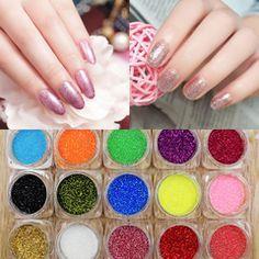 Полный 9,9 юаня отправка новый порошок ногтя яркий блеск блеск градиент цветной лазерный клей блестки фототерапии