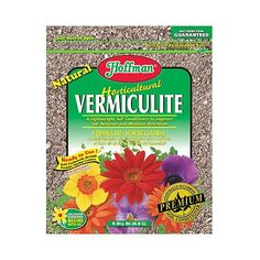 Awesome Hoffman Horticultural Vermiculite Quart is an efficient and popular soil conditioner Loosens soil and provides aeration