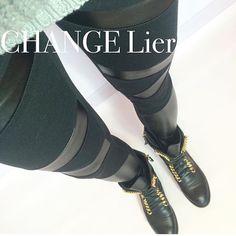 Ponownie dostępne❤️ Czarne spodnie/legginsy - dopełnienie każdej stylizacji   Idealne na co dzień do luźnego  t-shirtu, koszuli czy swetra a także w połączeniu z bardziej elegancką górą i szpilkami  Oryginalnego charakteru nadają wstawki z ekologicznej skóry  Pas na gumce Wstawki ze skóry ekologicznej