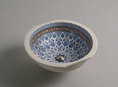 """Kohler """"Marrakesh Camber"""" undercounter lavatory, for her sink"""