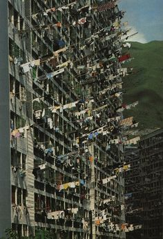 Clothes drying in Hong Kong