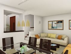 1000 images about salas modernas on pinterest ideas - Ideas para decorar una casa pequena ...