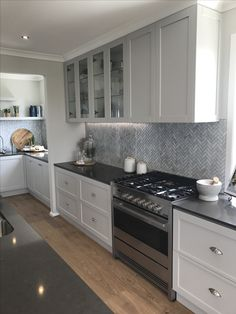 interior designed kitchens kitchen grey lower cabinets white search 12642