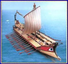 Ancient Greek Trireme Ship