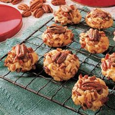 Butter Pecan Cookies. I make these every year and everyone loves them, even my sister who does not like nuts likes these.