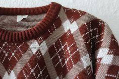 Vintage Men's Clothing – 70s sweater size M-L – a unique product by VintageWarenhaus on DaWanda