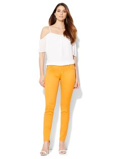 Soho, Capri Pants, Jeans, Model, Style, Fashion, Swag, Moda, Capri Trousers