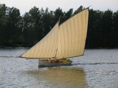 The Riviera, a gaff-rigged sloop