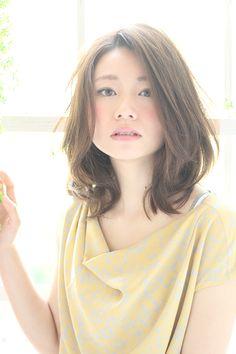 つやふわ美髪ミディアム | ヘアカタログ | ヘアサロン(東京青山/大阪/神戸)K-two effect http://www.k-two.jp/style/detail.html?id=1207