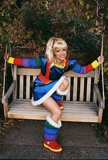 rainbow brite costumer for @Lisa Phillips-Barton Garay