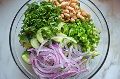 TESTED & PERFECTED RECIPE - This light salad is one of my go-tos. The dressing is tangy yet sweet and the peanuts add a tasty crunch.