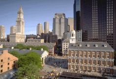 Faneuil Hall (Boston, Massachusetts), Ariel View -- Boston is one of my favorite towns to visit.  There is so much to do and to see!