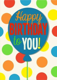This is a real card (not an e-card) shared from Sendcere. One of my favorite simple birthday cards to send!