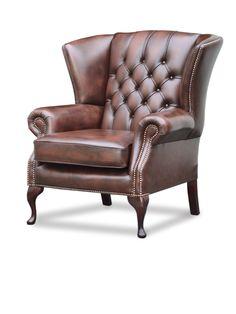 Colchester High Chair, Hand-wish Dark Brown Chesterfield, Dark Brown, Armchair, Furniture, Home Decor, Lounge Chairs, Modern, Sofa Chair, Single Sofa