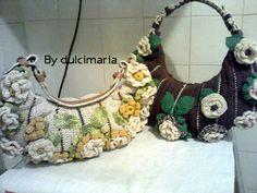 Fazendo arte com a dulci: bolsa bella fiore
