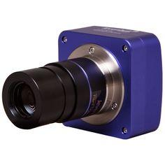 Kamera der gør det muligt at tage billeder gennem en stjernekikkert eller mikroskop. Kobles til pc via usb-kabel.
