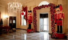 White House Christmas - Bush