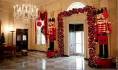 White House Christmas - Bush