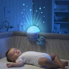Veilleuse projecteur next2 stars first dream bleue de Chicco