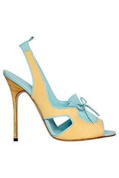 #Manolo Blahnik - Shoes - 2013 Spring-Summer
