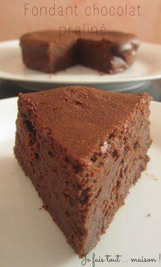 Je fais tout ... maison !: Fondant au mascarpone, chocolat et praliné !