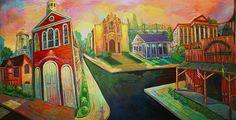 """Terrance Osborne """"Gretna Mural"""""""