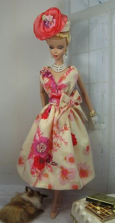 Liberty Floral for Silkstone Barbie and Victoire Roux on Etsy now